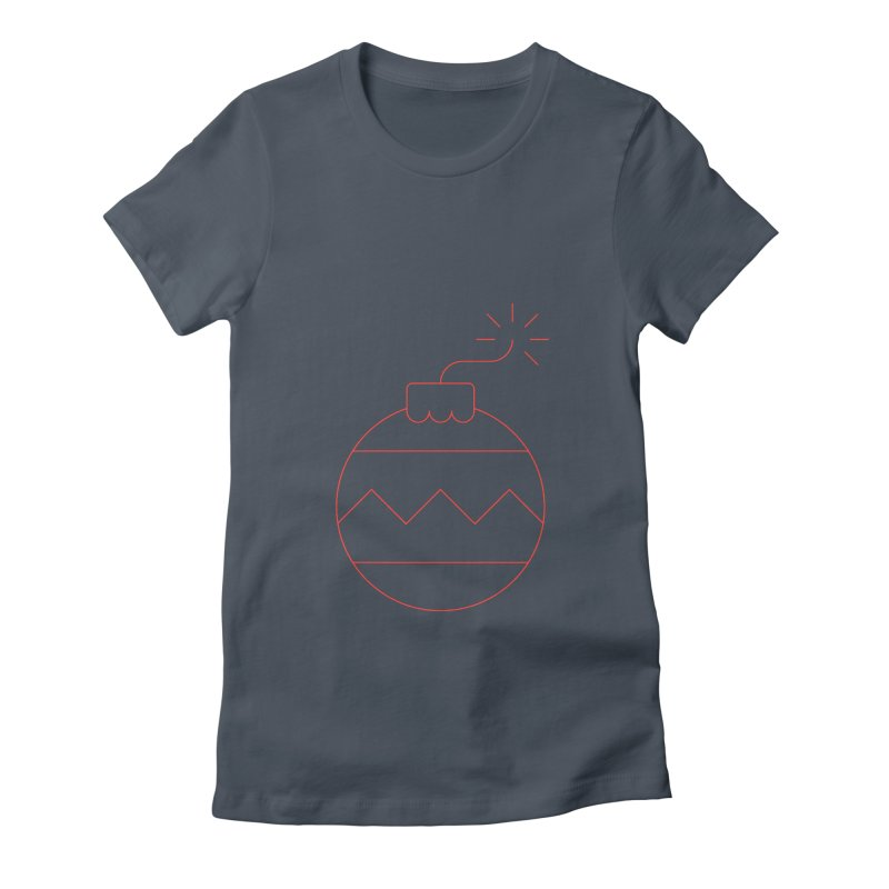 Holiday Stress Ball Women's Fitted T-Shirt by Andreas Wikström — Shop