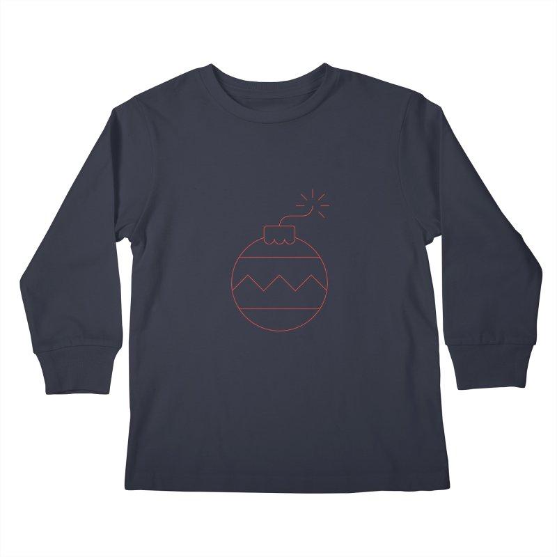 Holiday Stress Ball Kids Longsleeve T-Shirt by Andreas Wikström — Shop