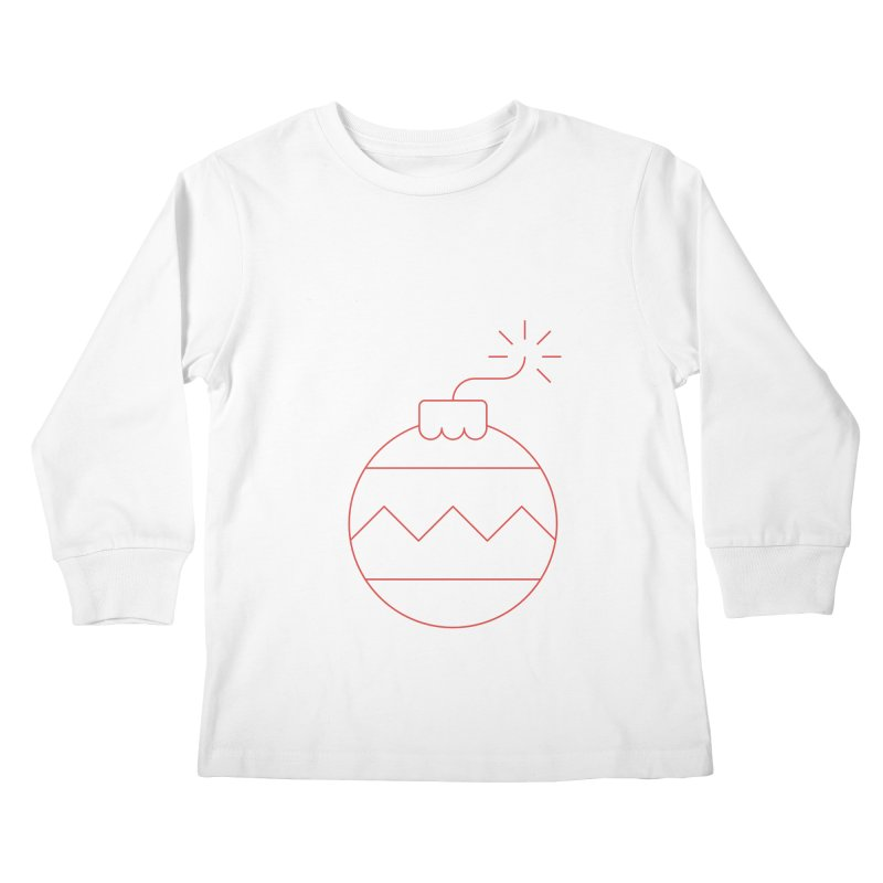 Holiday Stress Ball Kids Longsleeve T-Shirt by Andreas Wikström — Shop