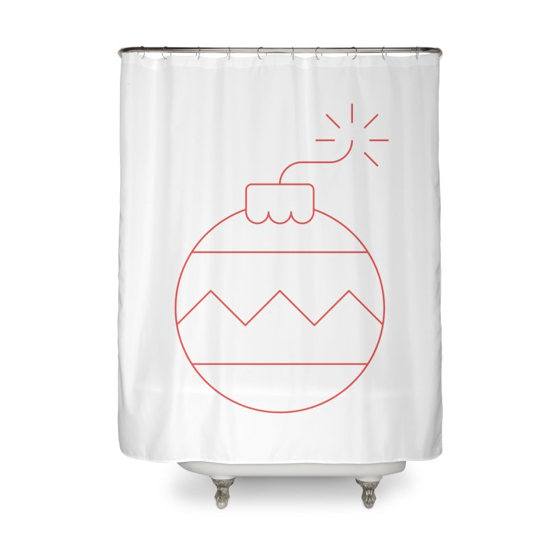 Holiday Stress Ball Home Shower Curtain by Andreas Wikström — Shop