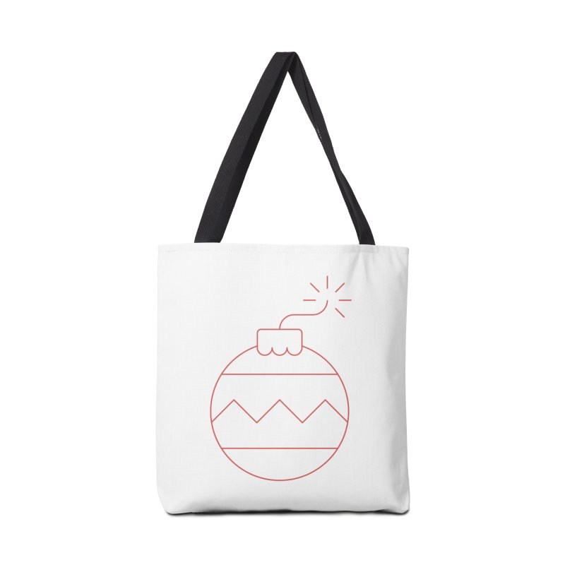 Holiday Stress Ball Accessories Bag by Andreas Wikström — Shop