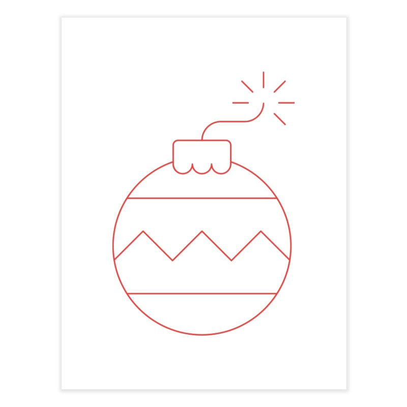 Holiday Stress Ball Home Fine Art Print by Andreas Wikström — Shop