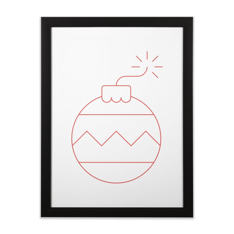 Holiday Stress Ball Home Framed Fine Art Print by Andreas Wikström — Shop