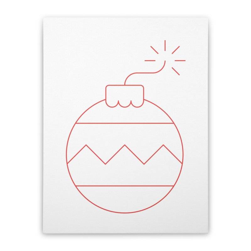Holiday Stress Ball Home Stretched Canvas by Andreas Wikström — Shop