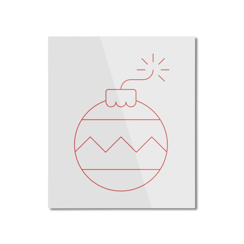 Holiday Stress Ball Home Mounted Aluminum Print by Andreas Wikström — Shop