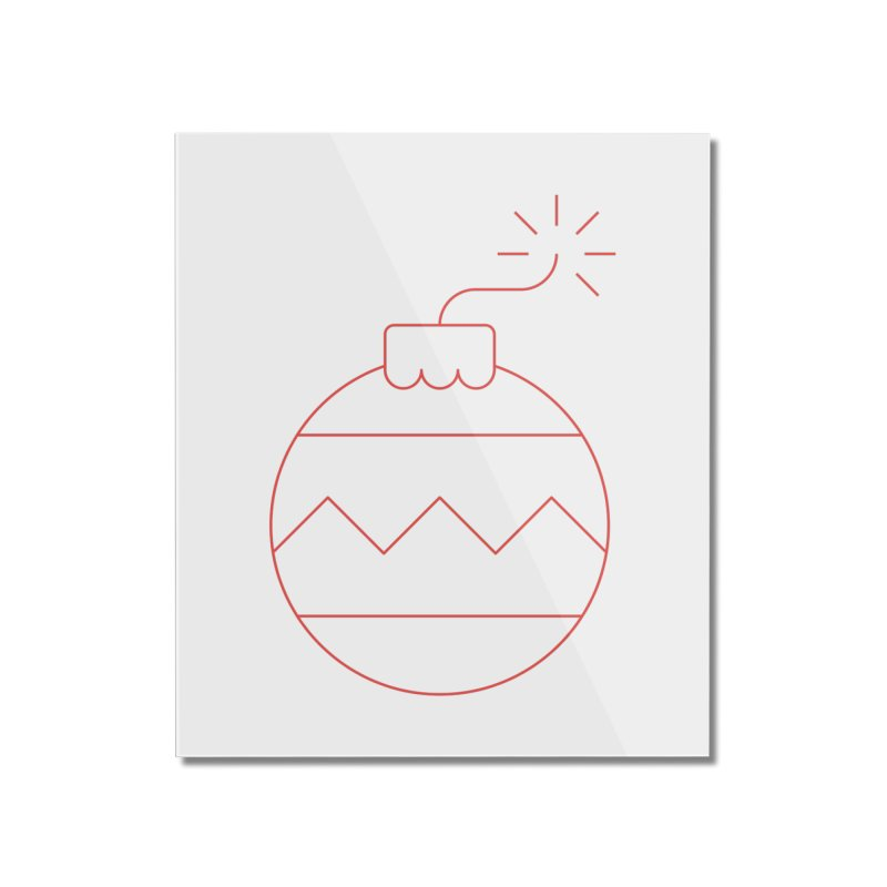 Holiday Stress Ball Home Mounted Acrylic Print by Andreas Wikström — Shop
