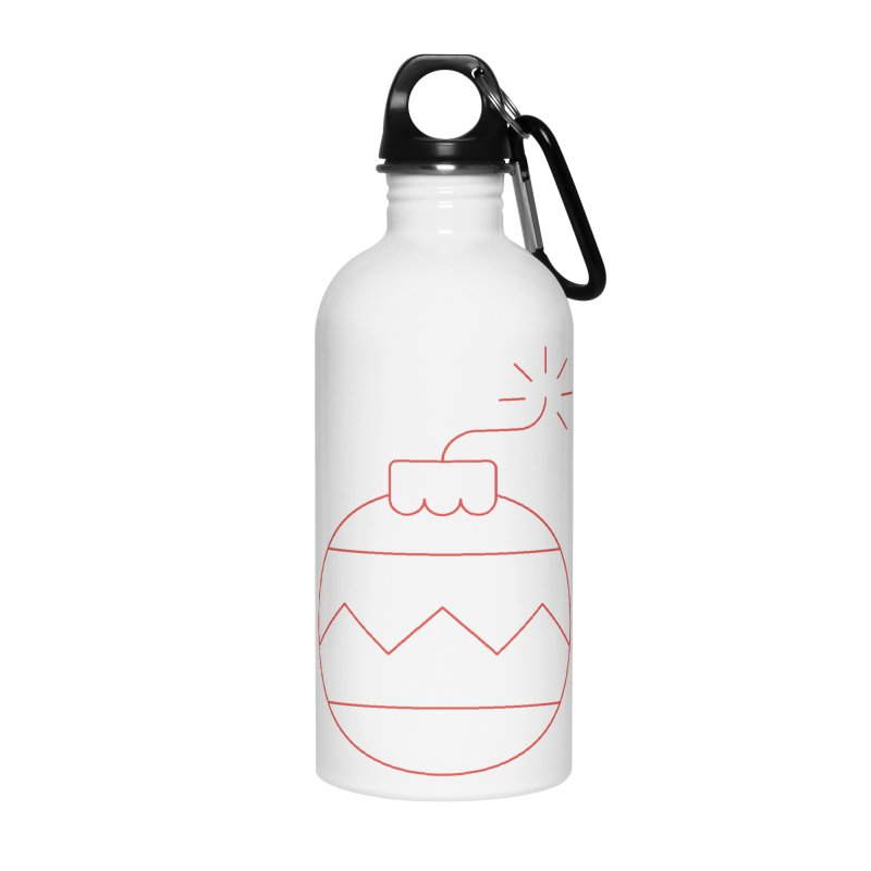 Holiday Stress Ball Accessories Water Bottle by Andreas Wikström — Shop
