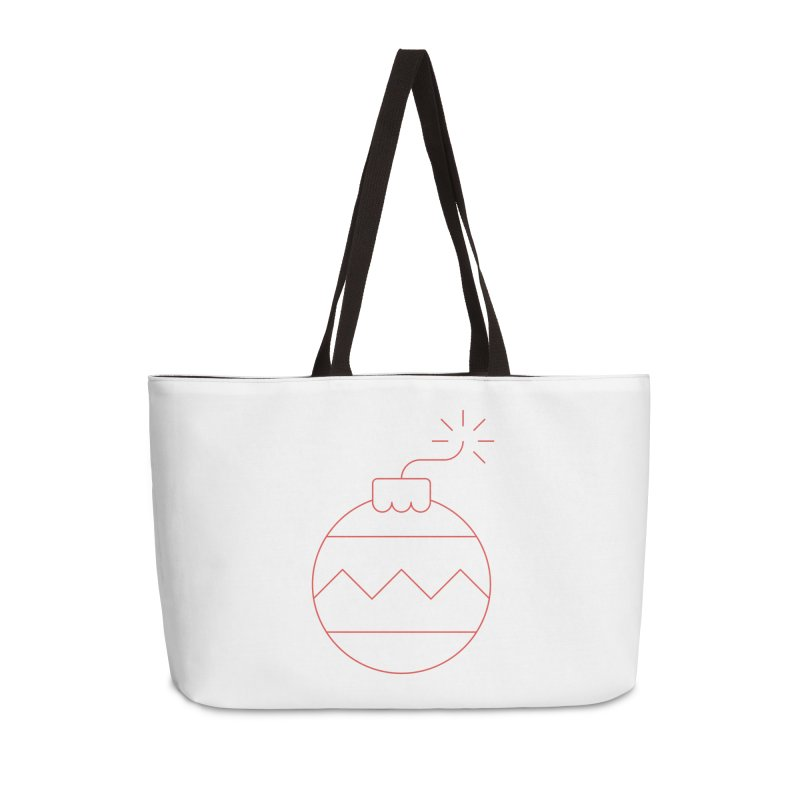 Holiday Stress Ball Accessories Weekender Bag Bag by Andreas Wikström — Shop
