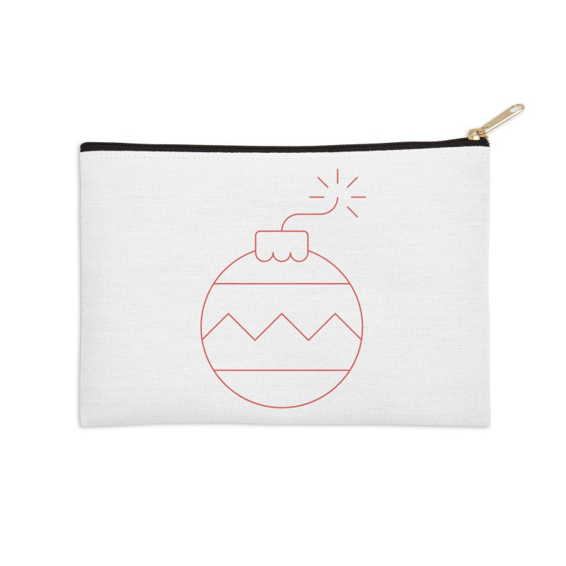 Holiday Stress Ball Accessories Zip Pouch by Andreas Wikström — Shop