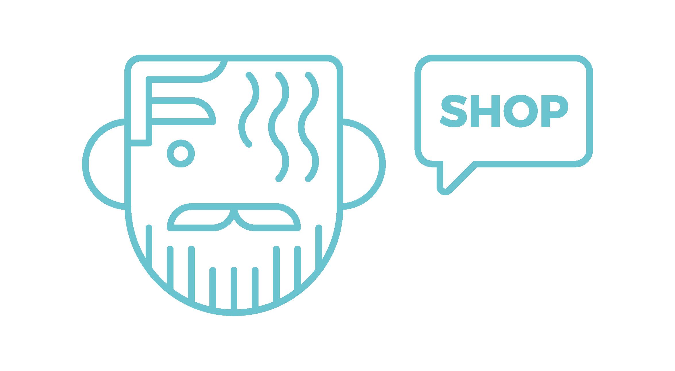 Andreas Wikström — Shop Logo