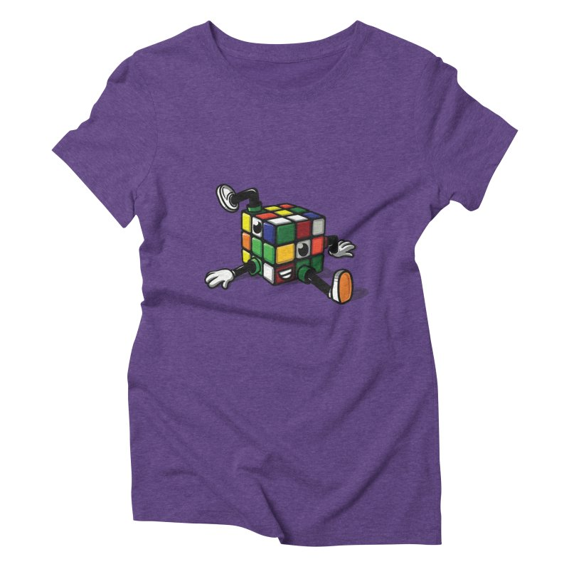 rubix Women's Triblend T-Shirt by andrejas's Artist Shop