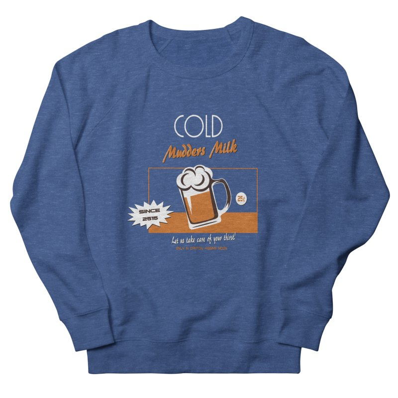 Cold One Men's French Terry Sweatshirt by andreusd's Artist Shop