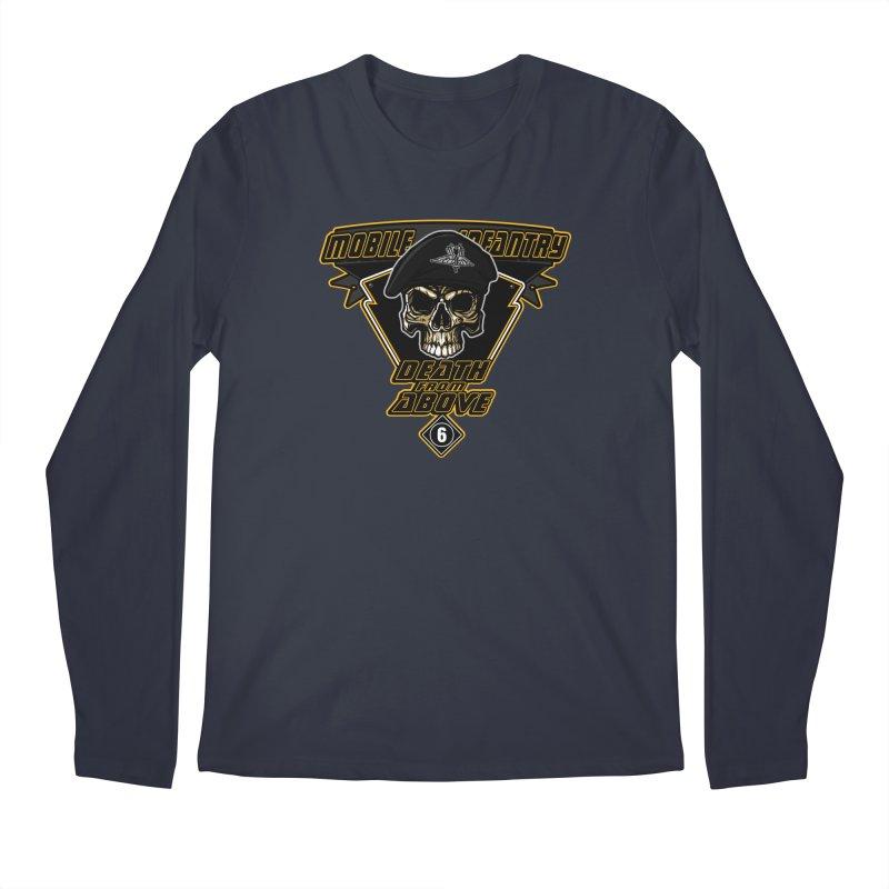 Death from Above Men's Regular Longsleeve T-Shirt by andreusd's Artist Shop