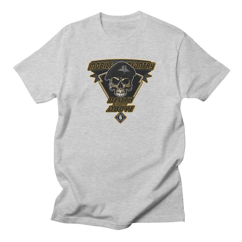 Death from Above Men's Regular T-Shirt by andreusd's Artist Shop