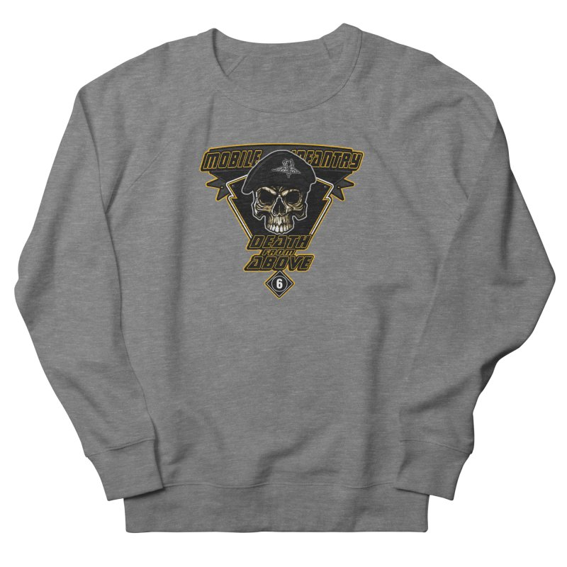 Death from Above Men's French Terry Sweatshirt by andreusd's Artist Shop
