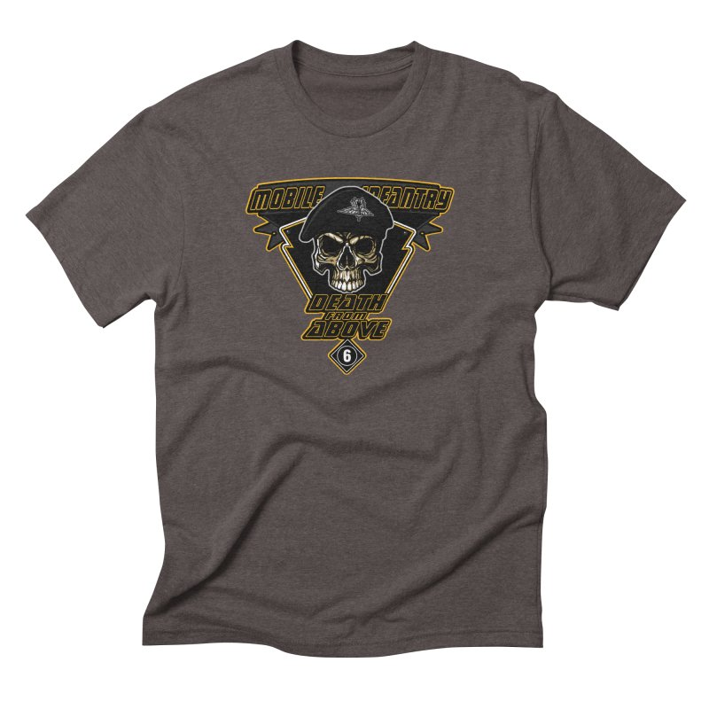 Death from Above Men's Triblend T-Shirt by andreusd's Artist Shop