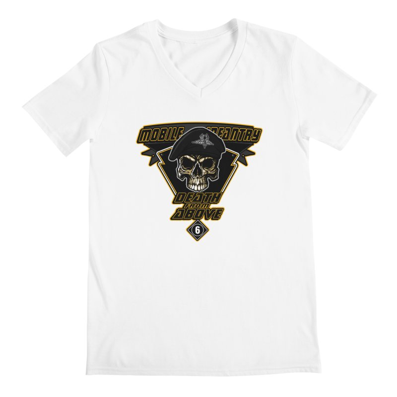 Death from Above Men's V-Neck by andreusd's Artist Shop