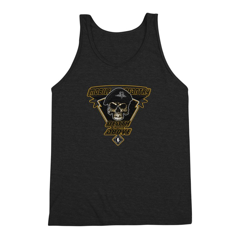 Death from Above Men's Triblend Tank by andreusd's Artist Shop