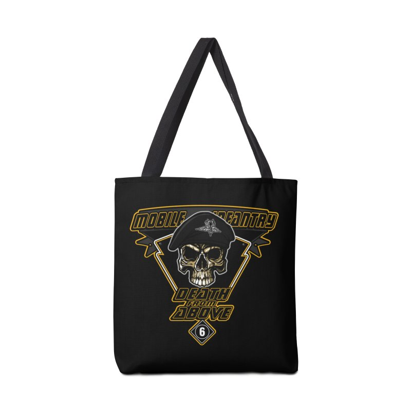Death from Above Accessories Tote Bag Bag by andreusd's Artist Shop