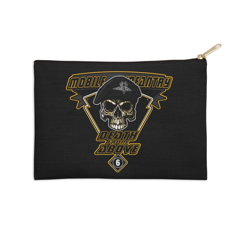Death from Above Accessories Zip Pouch by andreusd's Artist Shop