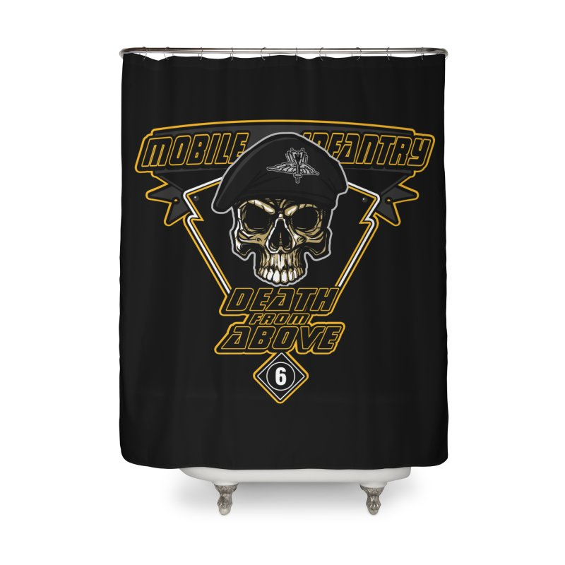Death from Above Home Shower Curtain by andreusd's Artist Shop