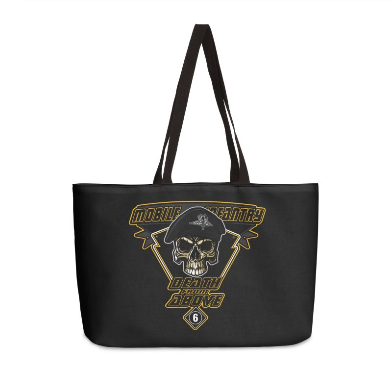 Death from Above Accessories Weekender Bag Bag by andreusd's Artist Shop