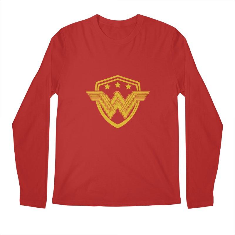 WonderEagle Men's Longsleeve T-Shirt by andreusd's Artist Shop