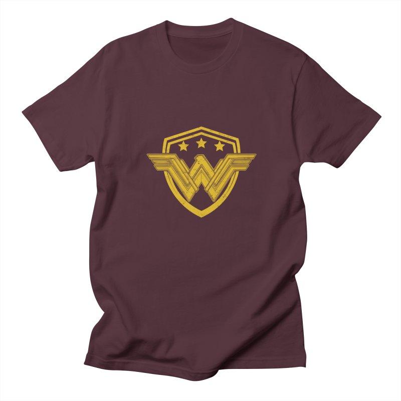 WonderEagle Men's Regular T-Shirt by andreusd's Artist Shop