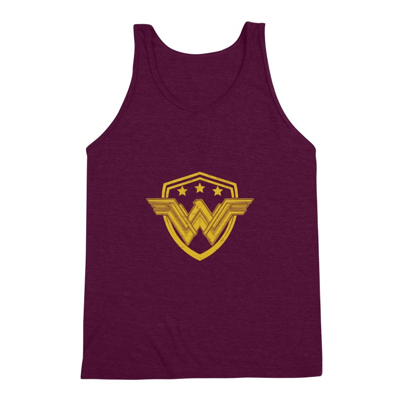 WonderEagle Men's Triblend Tank by andreusd's Artist Shop