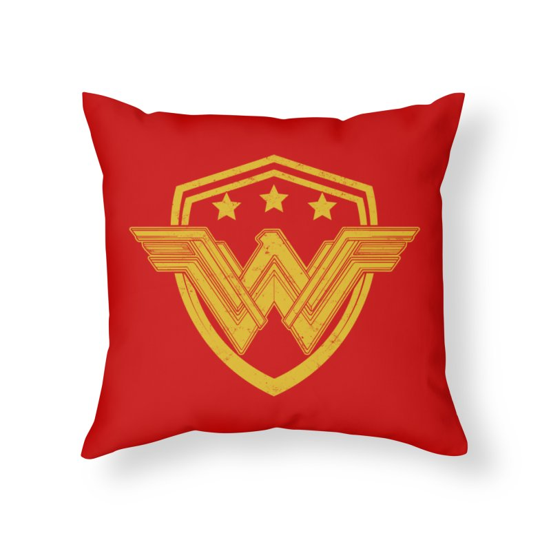 WonderEagle Home Throw Pillow by andreusd's Artist Shop