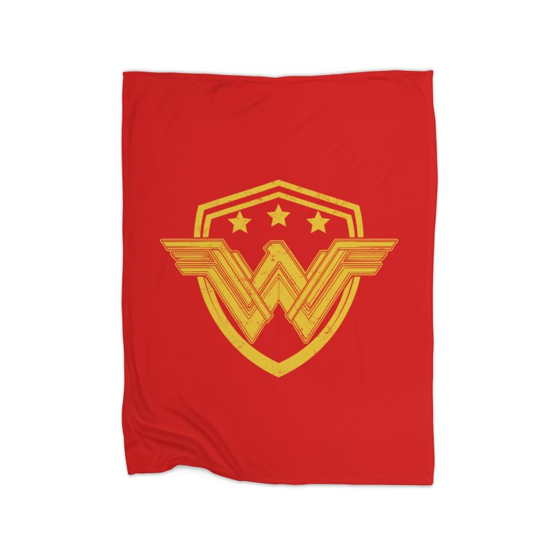 WonderEagle Home Fleece Blanket Blanket by andreusd's Artist Shop