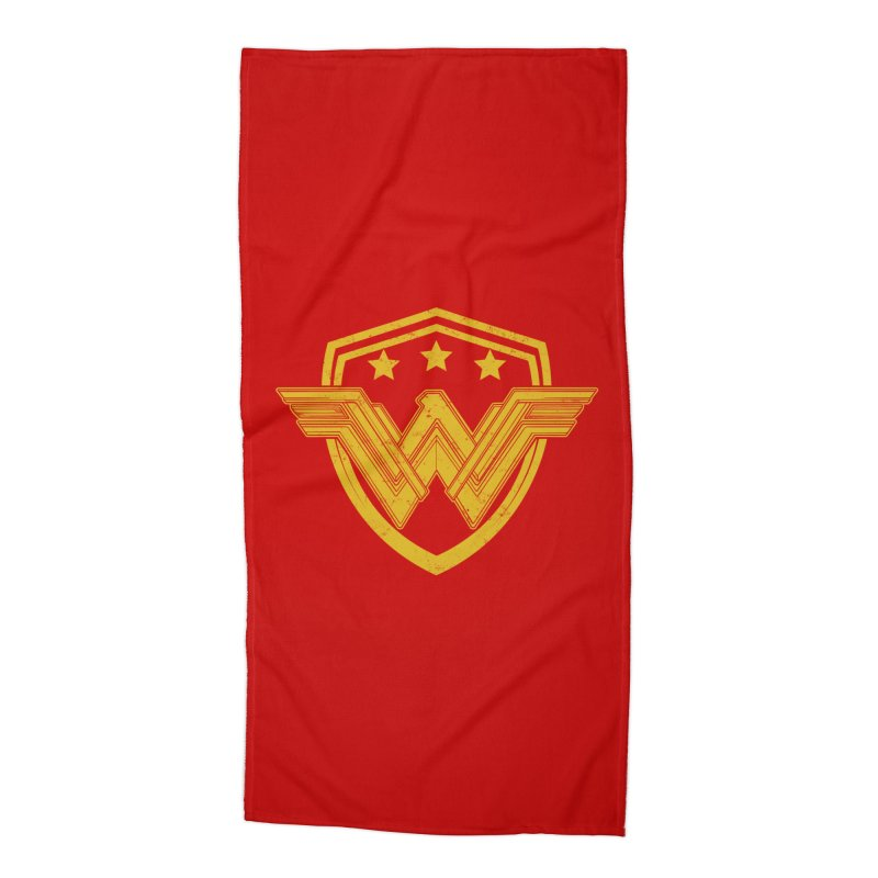 WonderEagle Accessories Beach Towel by andreusd's Artist Shop
