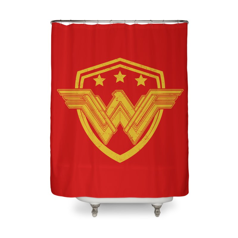WonderEagle Home Shower Curtain by andreusd's Artist Shop