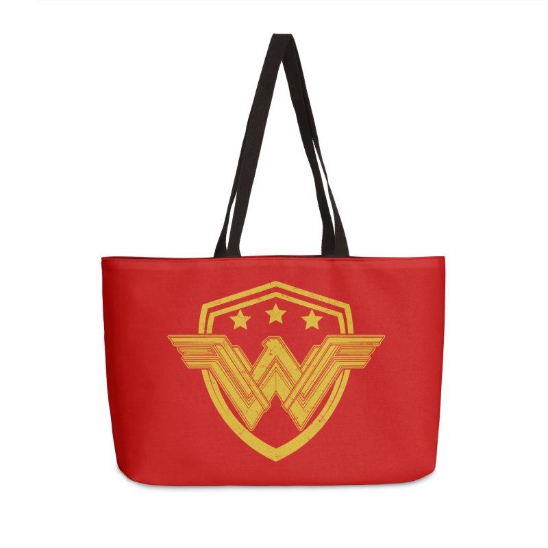 WonderEagle Accessories Weekender Bag Bag by andreusd's Artist Shop