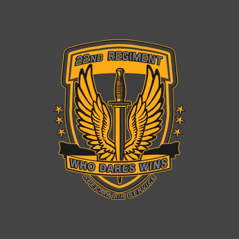 22nd Regiment Insignia None  by andreusd's Artist Shop