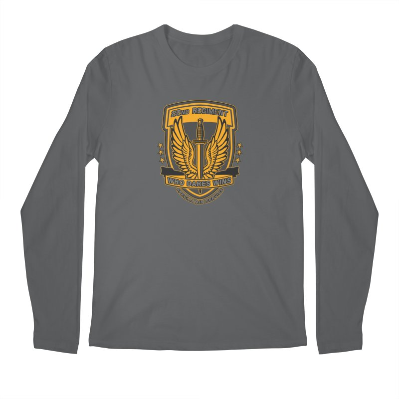 22nd Regiment Insignia Men's Longsleeve T-Shirt by andreusd's Artist Shop