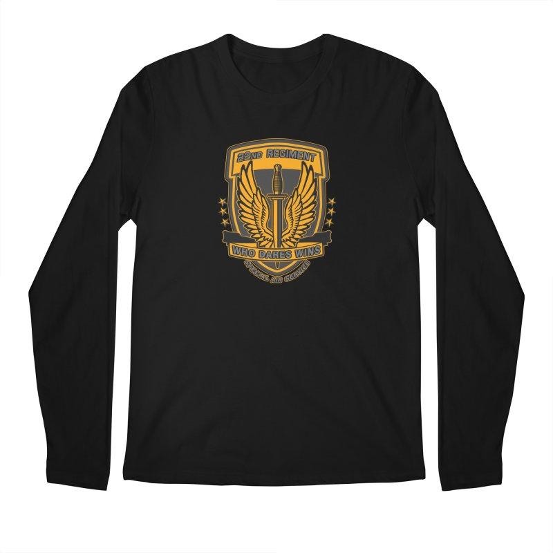 22nd Regiment Insignia Men's Regular Longsleeve T-Shirt by andreusd's Artist Shop