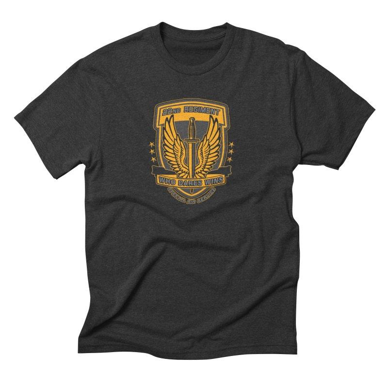 22nd Regiment Insignia Men's Triblend T-Shirt by andreusd's Artist Shop