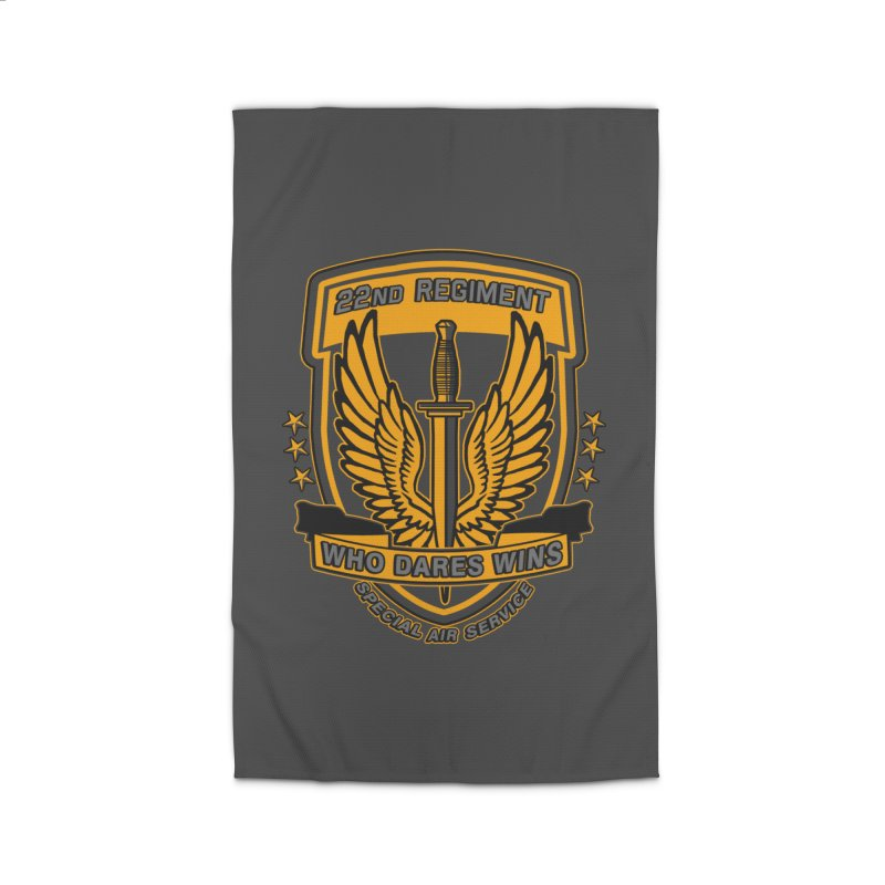 22nd Regiment Insignia Home Rug by andreusd's Artist Shop