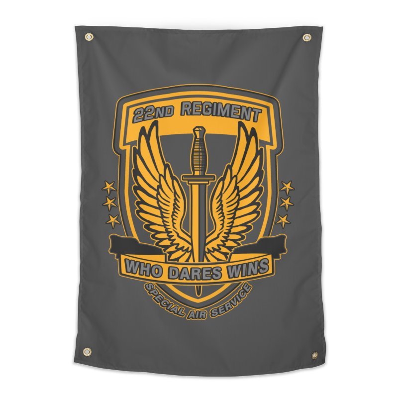22nd Regiment Insignia Home Tapestry by andreusd's Artist Shop