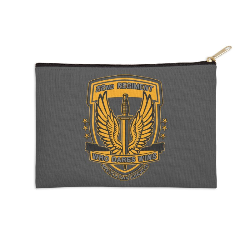 22nd Regiment Insignia Accessories Zip Pouch by andreusd's Artist Shop