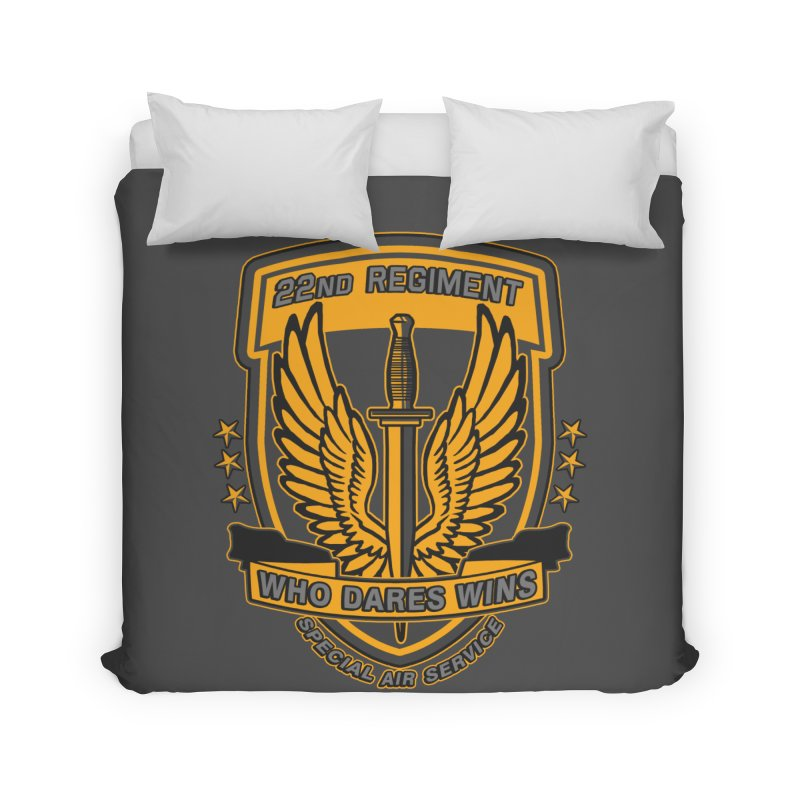 22nd Regiment Insignia Home Duvet by andreusd's Artist Shop