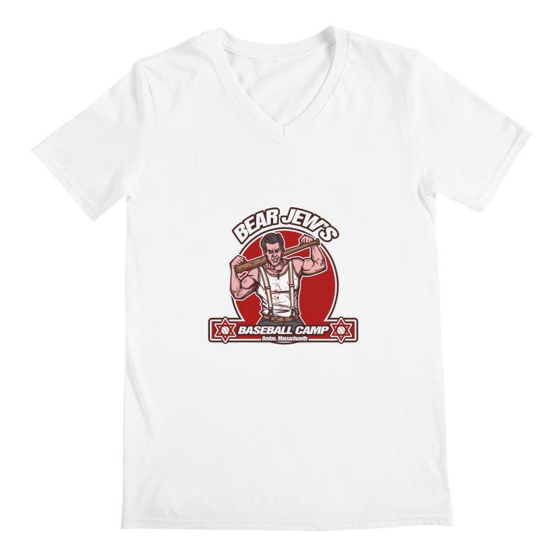BJ's Baseball Camp Men's V-Neck by andreusd's Artist Shop