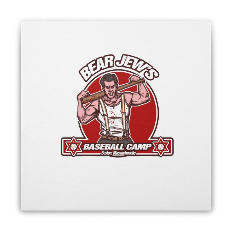 BJ's Baseball Camp Home Stretched Canvas by andreusd's Artist Shop