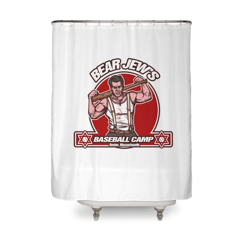 BJ's Baseball Camp Home Shower Curtain by andreusd's Artist Shop