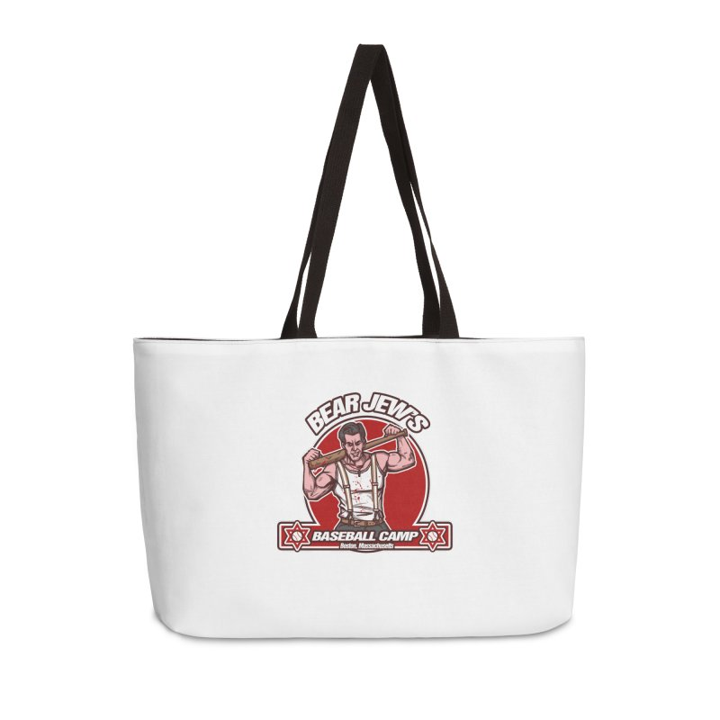 BJ's Baseball Camp Accessories Weekender Bag Bag by andreusd's Artist Shop