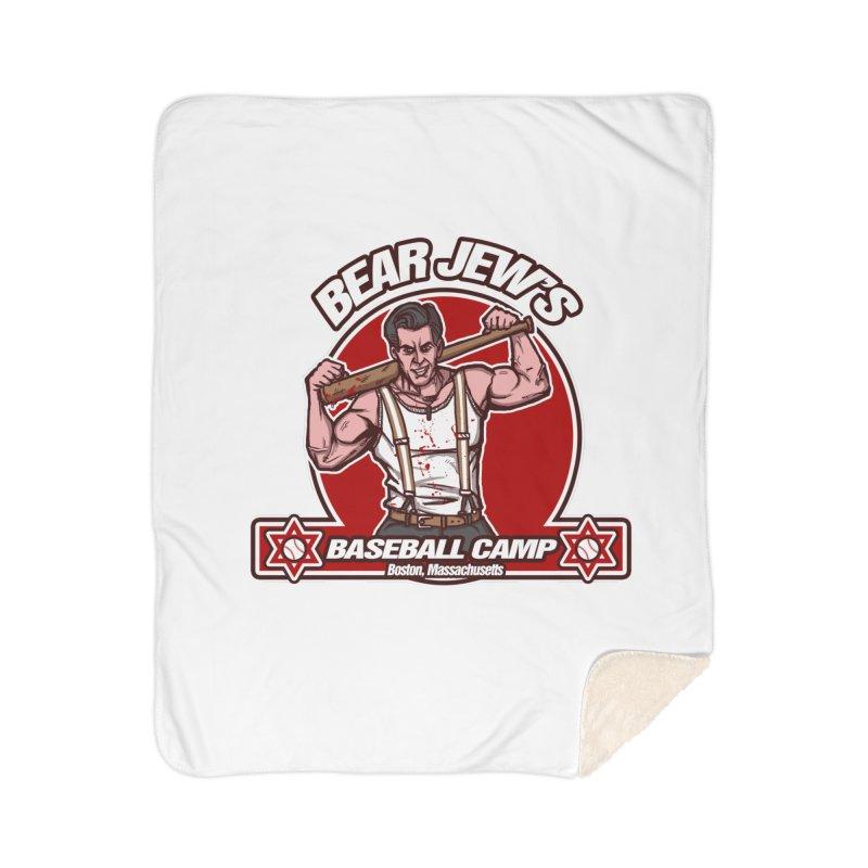 BJ's Baseball Camp Home Sherpa Blanket Blanket by andreusd's Artist Shop
