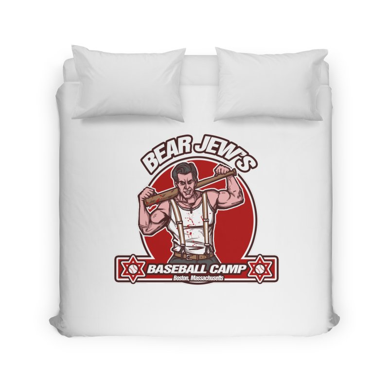 BJ's Baseball Camp Home Duvet by andreusd's Artist Shop