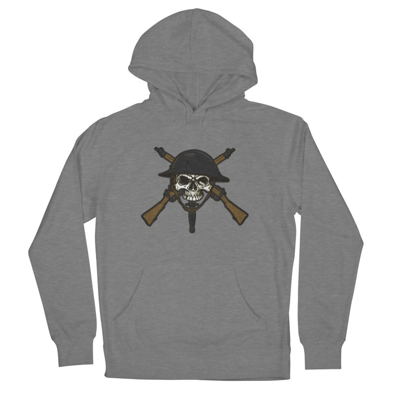 Do Your Bit on the Battlefield Men's French Terry Pullover Hoody by andreusd's Artist Shop