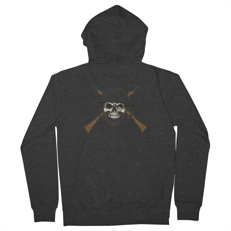 Do Your Bit on the Battlefield Men's Zip-Up Hoody by andreusd's Artist Shop